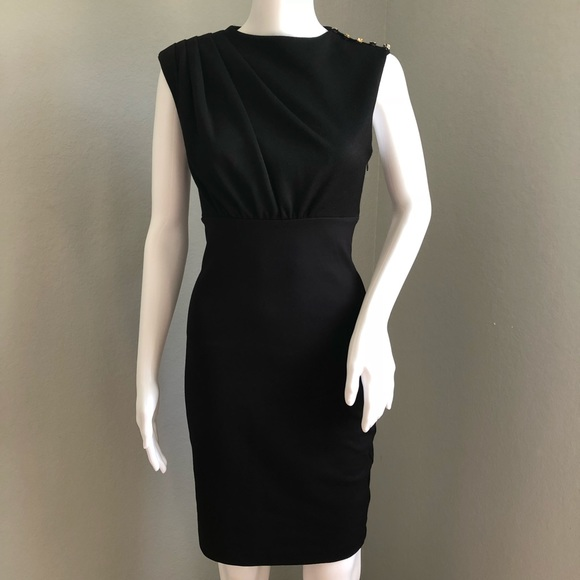 1ea6d95623597 Ted Baker London Sheath Dress Black Sleeveless